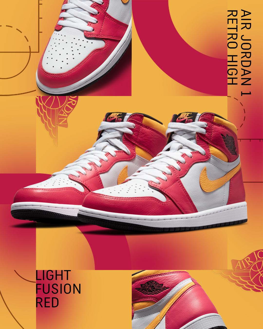 Nike-AJ1-Light-Red-Fusion-Red